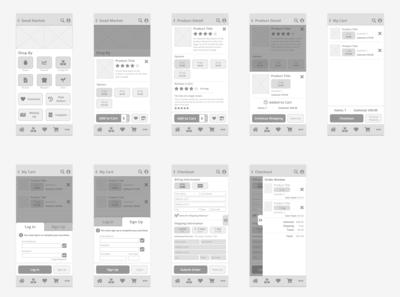 Good Market - All Screens v2 [Mobile]
