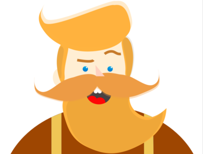 Illustration Challenge- Bob The Bearded Guy !