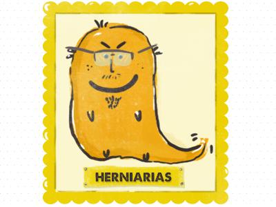Heriarias  illustration sketch