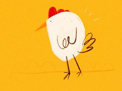 Gallina sketch chicken design sketch cartoon illustration