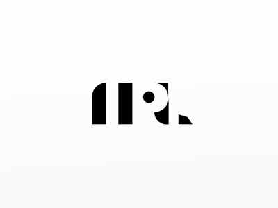 Logotype Concept concept black  white bw white space minimalist design design logo logotype