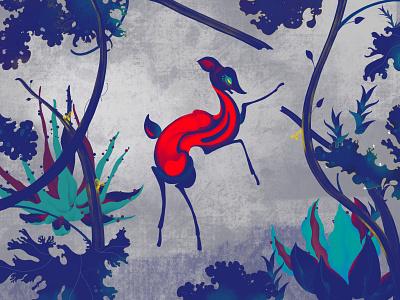 Home 3/8 illustrator illustration earth love animal flower plant xiweiwei