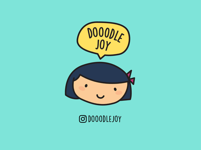 dooodlejoy icon branding logo graphic art illustration cute flat vector