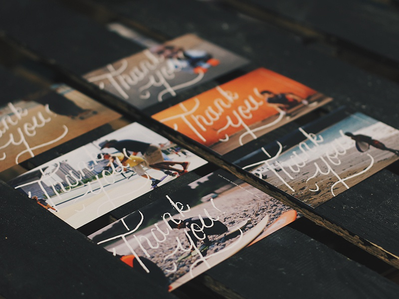 Post Card Design  stamp graphic design debut typography goodtype script beautiful vintage handlettering lettering