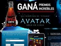 Avatar promo game