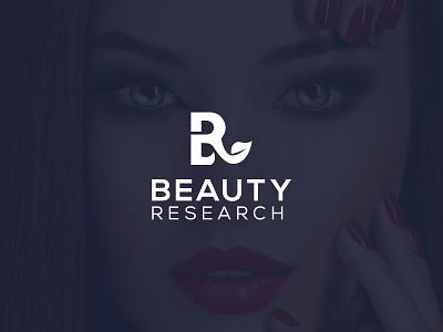 Beauty Research cosmetics logo beauty salon mackup fashion brand beauty logo illustrator brand designer minimal illustration fashion design design branding design branding logo design logodesign logotype logos logo