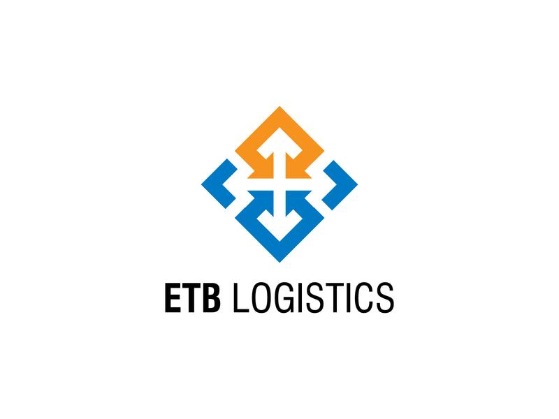 Logo Logistic Company Arrows