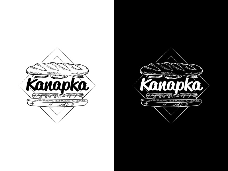 Logo for catering company