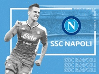 Arkadiusz Milik SSC Napoli Screen