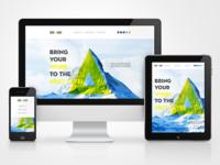 Brand Web Site Responsive