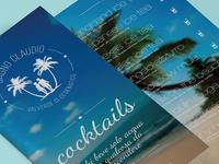 Bagno Claudio - Cocktails Menù