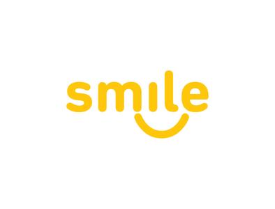 Smile Logo Design illustrator logo design logos logo