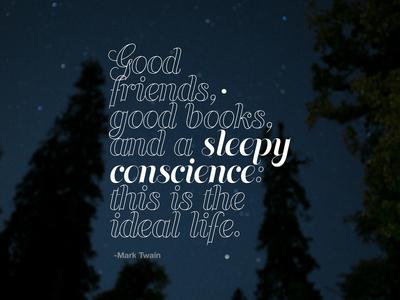 Sleepy Conscience