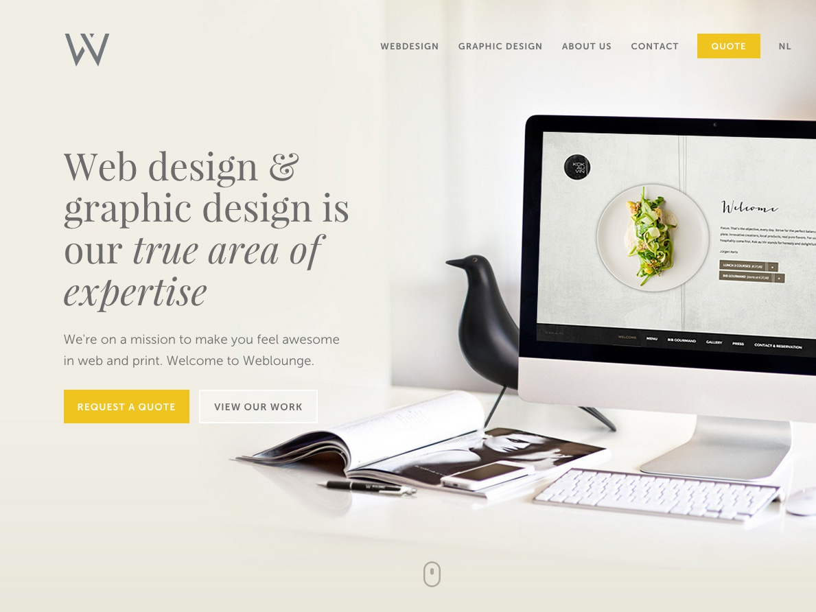 Webdesign Weblounge responsive belgium museo sans playfair display website logodesign graphicdesign logo design ui website design logo weblounge webdesign