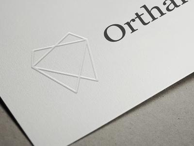 Orthalia branding businesscard logo design graphicdesign weblounge logo logodesign