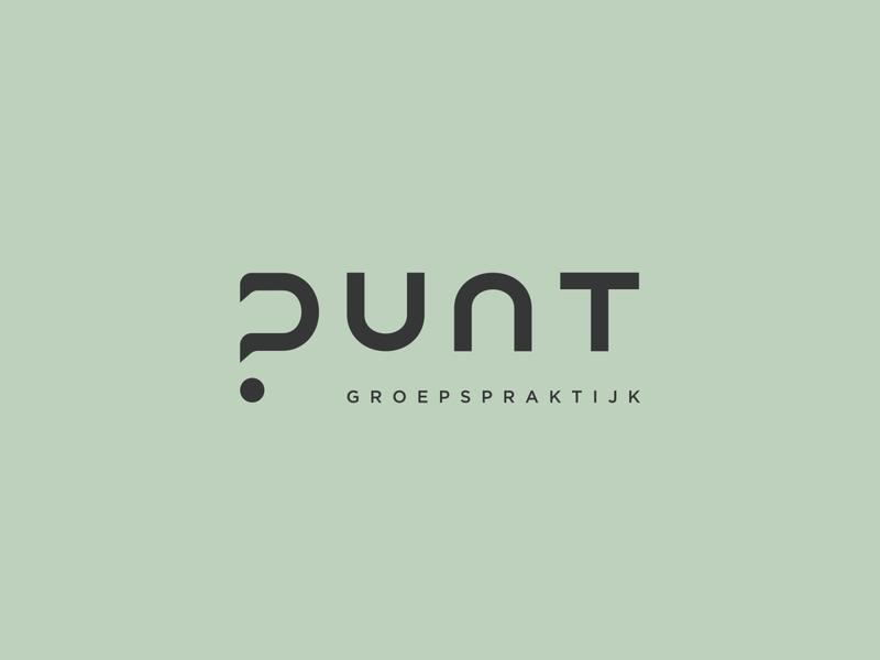 "Logo Groepspraktijk ""Punt"" branding logo design graphicdesign logo logodesign weblounge"