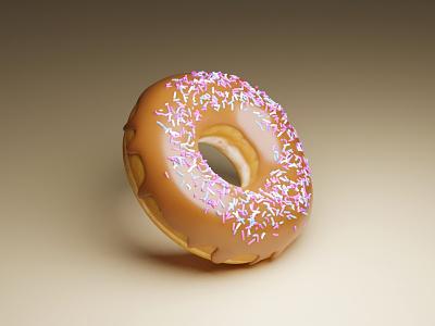 3D Donut modeling 3d donuts donut blender3d blender