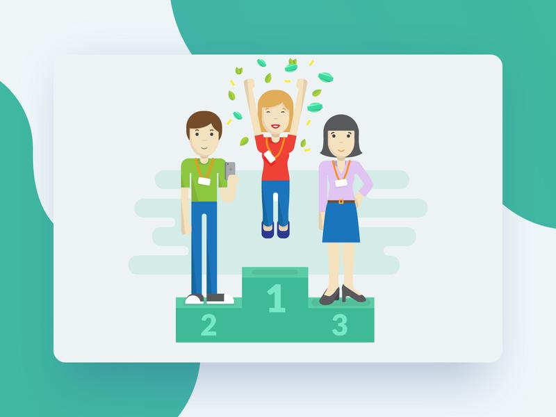 Mint app illustration illustration app design bitnoise ui development app design