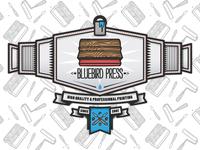 Bluebird Crest Wrap