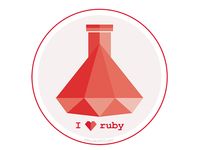 We love Ruby Badge