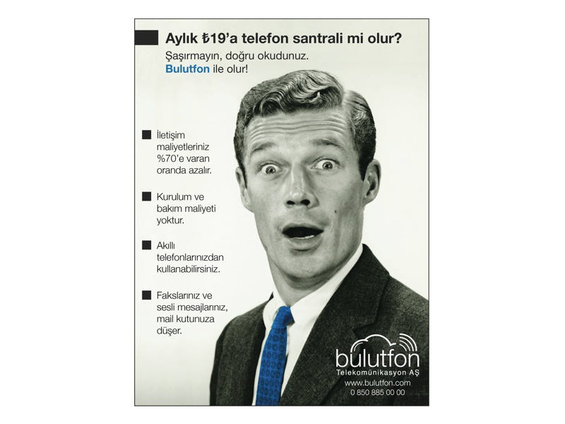 Bulutfon advertising cover