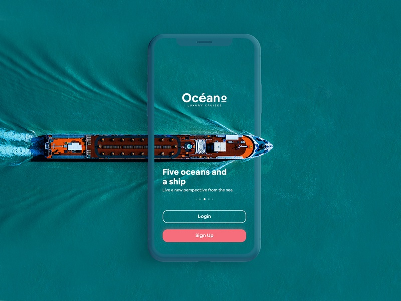 Océano - Cruise App UI