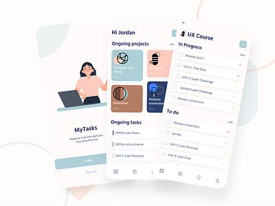Task Manager App ui design