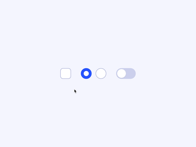 Toggles css codepen micro interaction animation interface ui transform motion bounce switch radio checkbox morph toggle