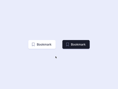 Bookmark Button switch toggle button interface bookmarking micro interaction codepen gsap ui fluid icon animation motion 3d morph save bookmark