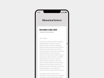 Letters scrolling motion micro interaction css animation interface typography letter scroll gsap codepen ux ui app mobile