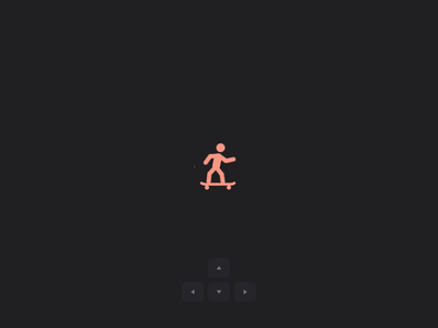 🛹 Interactive loading micro interaction animation interface motion shortcuts keyboard load skate gsap css html codepen ui design microinteraction interactive loading web app ux ui
