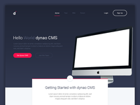 CMS Landing Page WIP