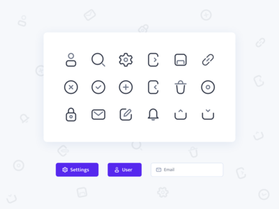 UI Icons for CMS