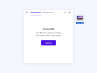 Drag & Drop upload (html, css version) animation user interface interface ux ui microinteractions micro interaction css codepen particle upload drop drag