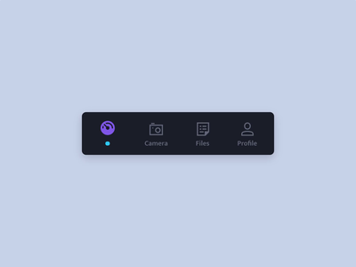Tab Bar active animation micro interaction interface mobile app ux ui codepen active icon tabs menu animation app mobile tab bar
