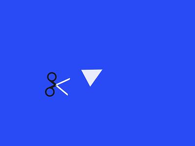 Paper Cut papercut scissor ui motion css gsap3 codepen gsap animation loading loader load cut infinity paper