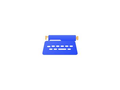 Typewriter 📄 html css codepen motion design writing write document type animation design motion typing animation typewriter