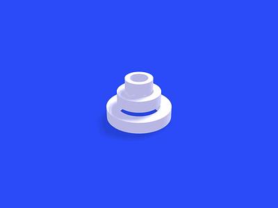 3D Circle Loader infinite motion animation css codepen webgl threejs loading load circles 3d