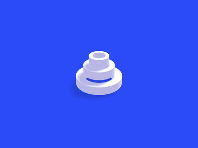 3D Circle Loader infinite motion animation css codepen webgl threejs loading load circles 3d