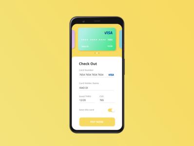 Credit Card Checkout - Daily UI #002 website design ux web ui dailui dailyui application app design app
