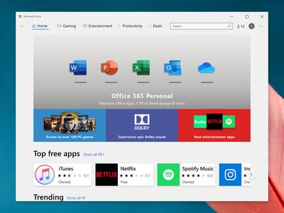 Microsoft Store Concept