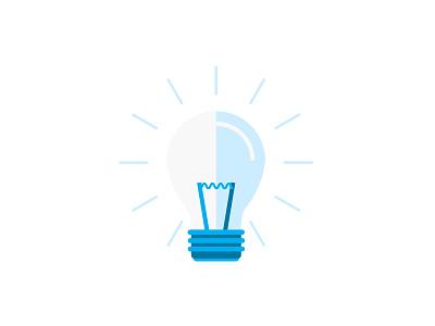 Idea - almost there startup lightbulb idea