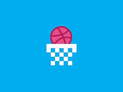 Score an invite! score basket contest invite dribbble dribbble invite