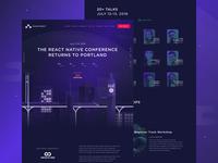Chain React 2018 Website