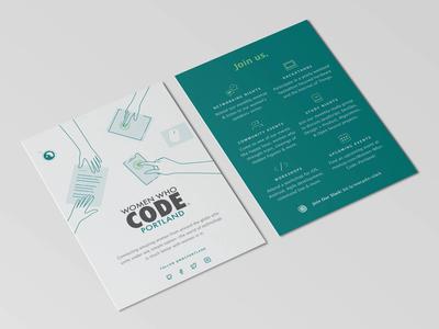 Women Who Code Portland Postcard