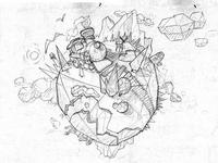 Boréalis Ipad Game sketch01