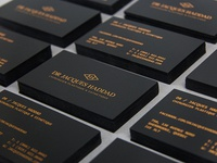 Dr Jacques Haddad Business Cards