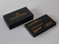 Dr. Haddad Business Cards