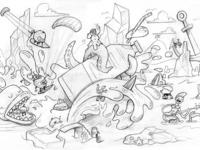 Fruite - Kite Surf - sketch