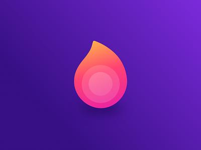 Litcheck Logo app lit fire flame ux vector branding logo design ui